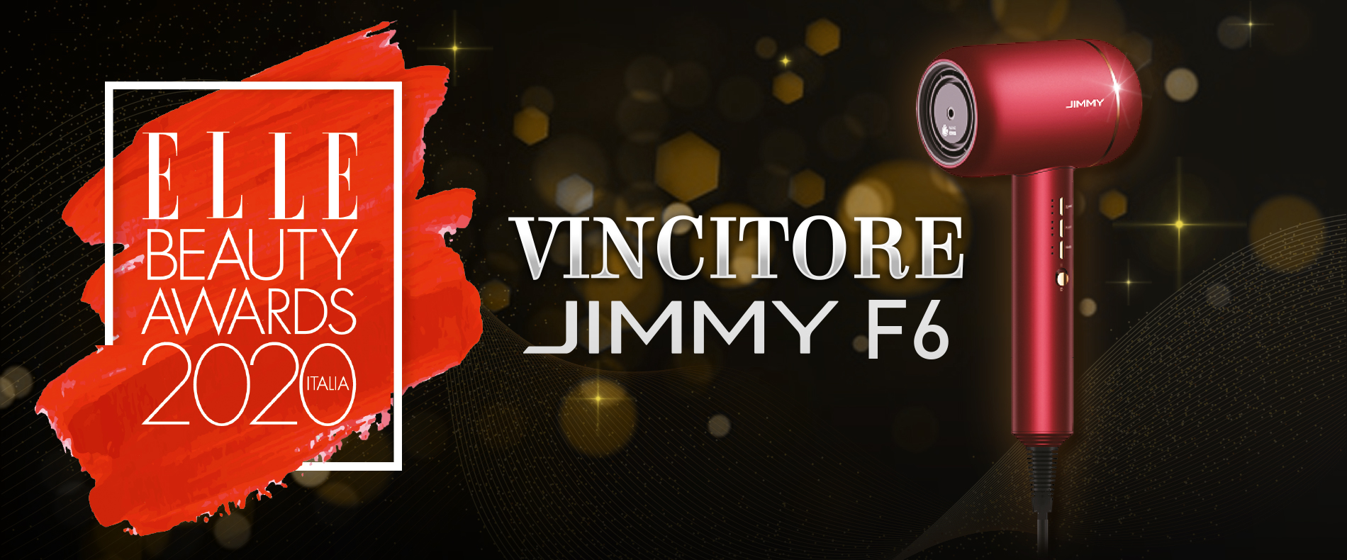 JIMMY F6 VIncitore ELLE Beauty Awards 2020